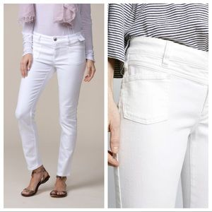 CLOSED $265 Pedal X White Skinny Jeans